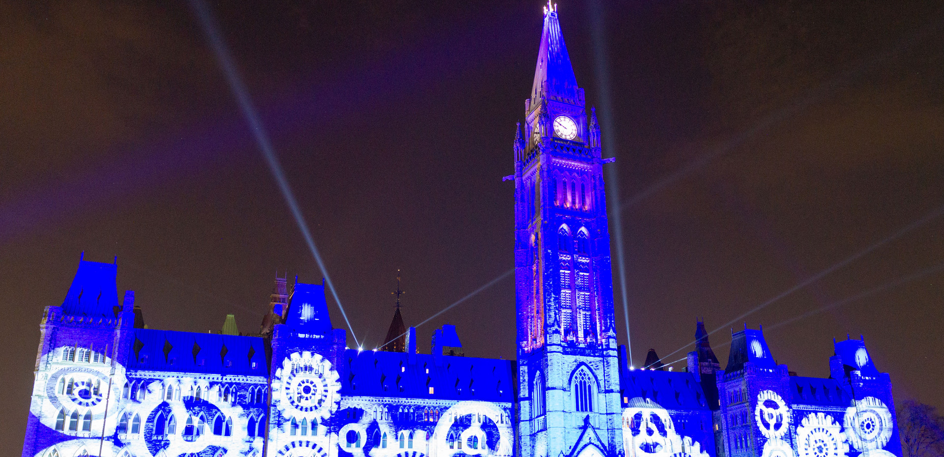 Take in the historical light show at Parliament Hill in the heart of summer