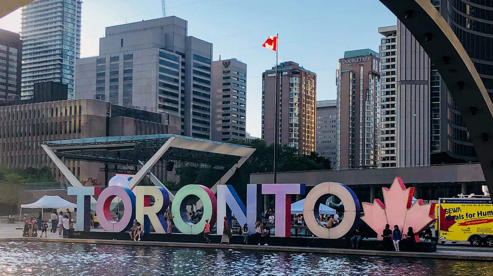 Check out the many diverse neighborhoods of Toronto