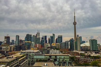 Toronto Skyline View from Thomspon Bar