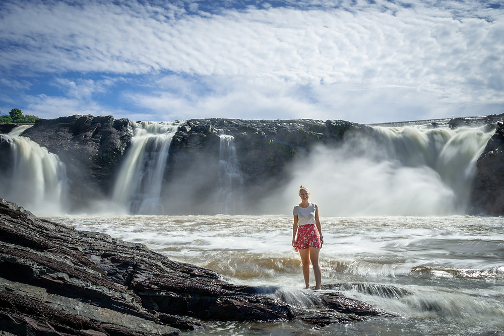 Adventure Tour Destinations Canada with Waterfalls by Car or Train in Quebec Canada