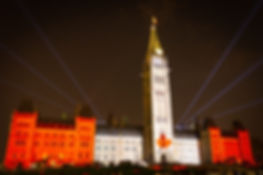 Canada Parliament Ottawa Ontario at Night Best Canada Travel Destinations