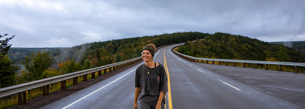 Enjoy the scenery along the ultimate road-tripping road the Cabot Trail