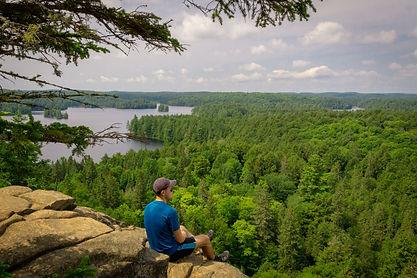 Algonquin Park Ontario Hiking Scenic Lookout Trail Adventure Tour Canada