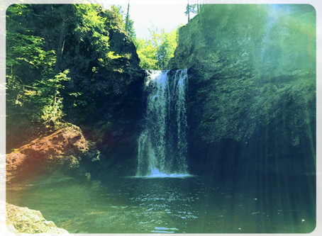 Nothing dry about the magical Drysdale Falls, Nova Scotia. Epic Canada Travel Destinations.