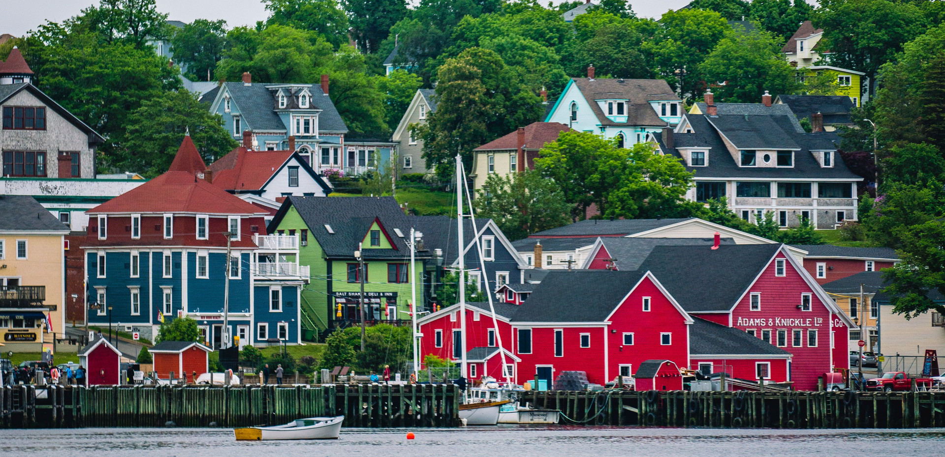 Wander the streets of the most beautiful town in Canada, historic Lunenburg