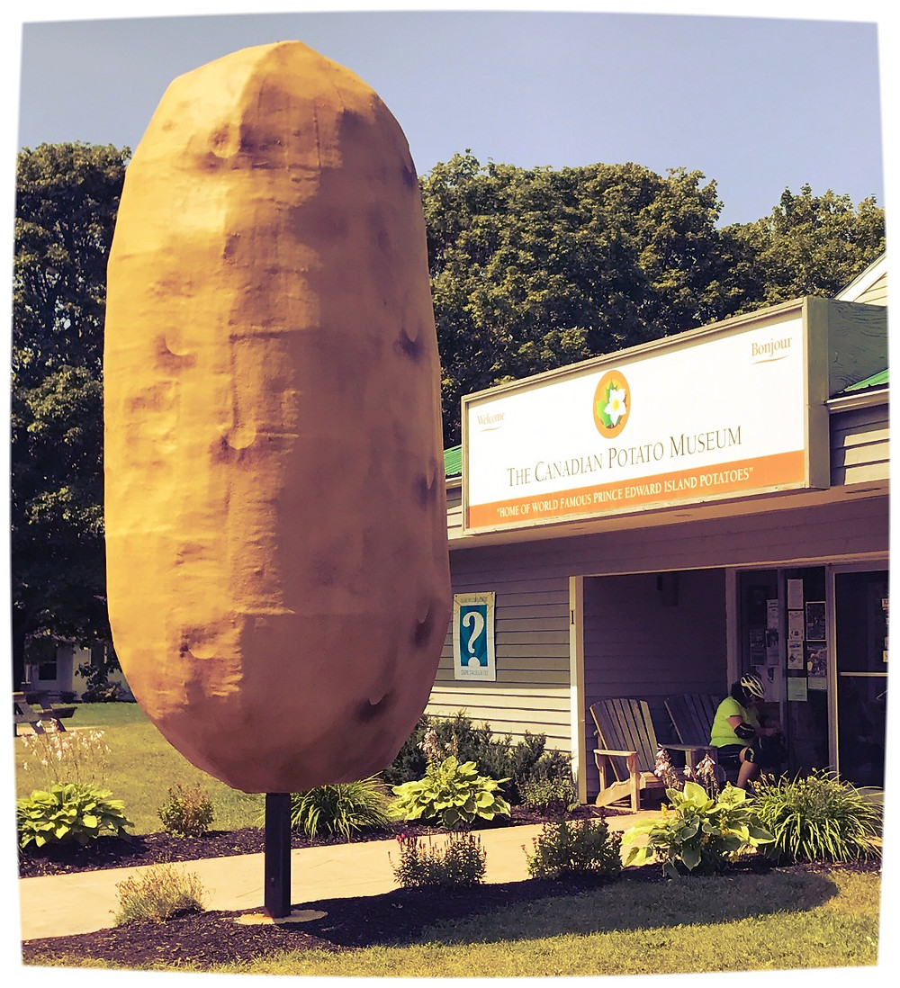 Quirky Travel Destination in Canada is the Potato Museum great for a Canada Road Trip