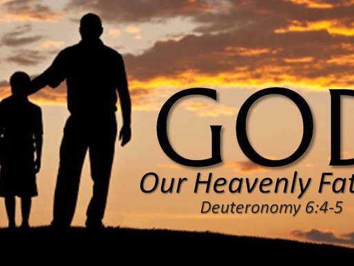 6.6.2020 God, Our Father