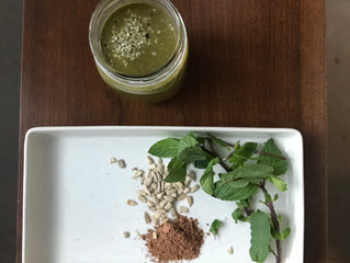 Post Work Out Smoothie - Cacao Mint Delight