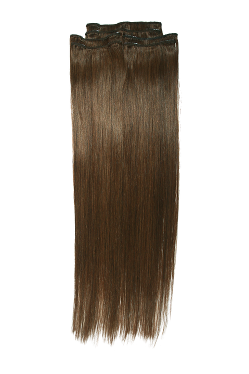 22 Inches 4 MEDIUM BROWN- Full Head Package