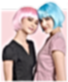Synthetic Party Wigs