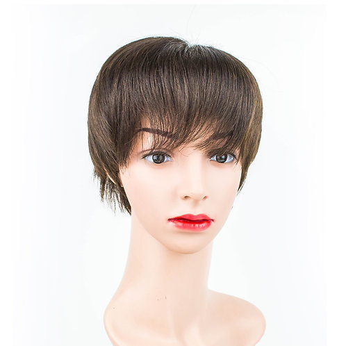 AUDREY Short Volume Pixie Monofilament Wig
