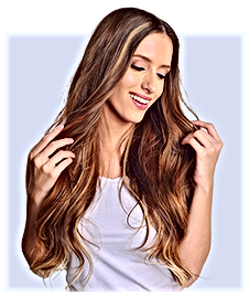 Human Clip On Hair Extensions