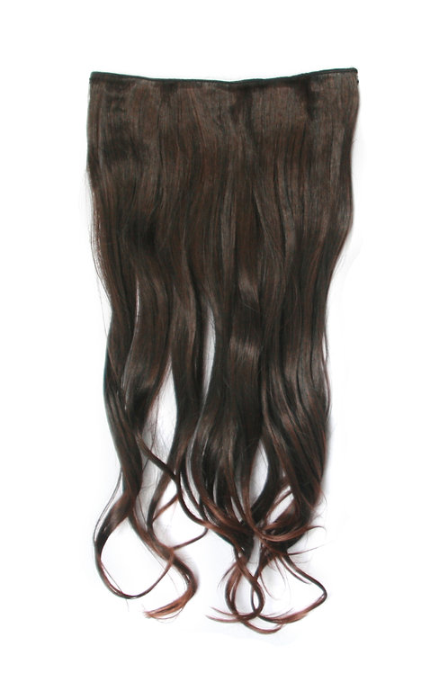 Wavy One Piece Synthetic Hair Extensions 0379