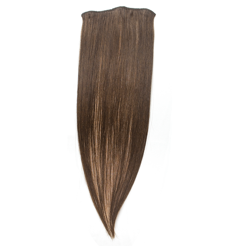 16 Inches 3-clip, Natural Colors