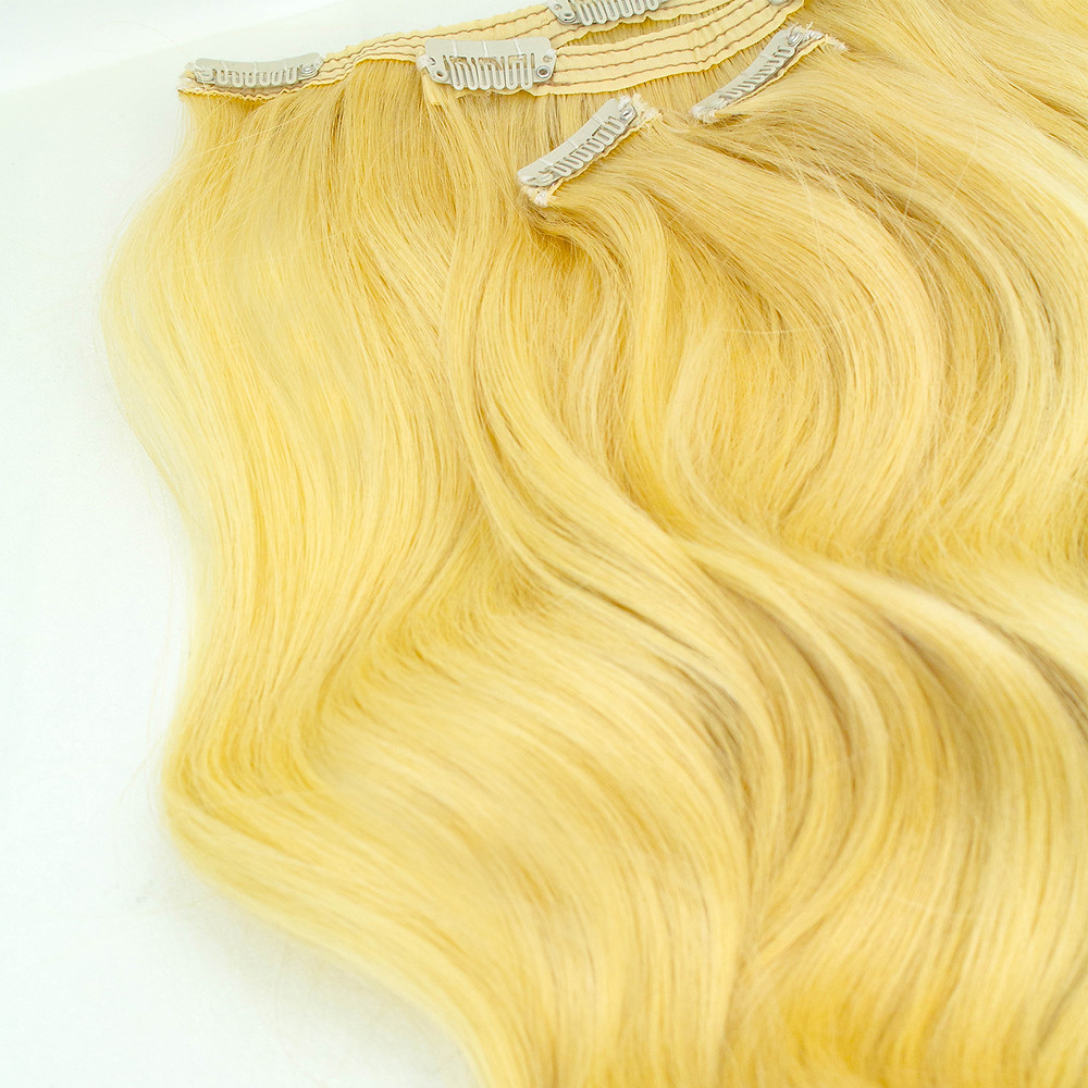 clip on remy hair extensions, blonde hair, lynelle hair