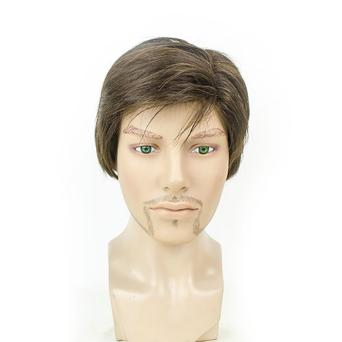 ALEX  Unisex Short Monofilament Wig