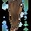 "Thumbnail: Keira Human Hair Extensions Waist Length 22"" 4-clip, Natural Color L22W8"
