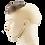 Thumbnail: S7021K Synthetic Clip On Toupee S7021K