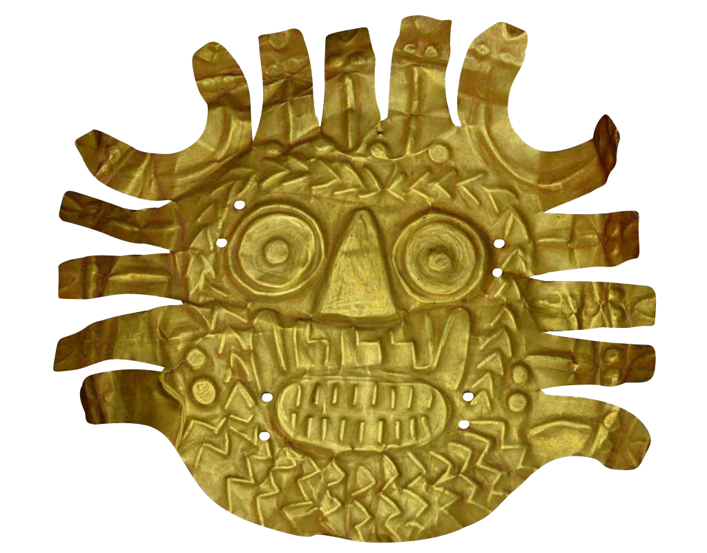 Nazca Gold Ornament