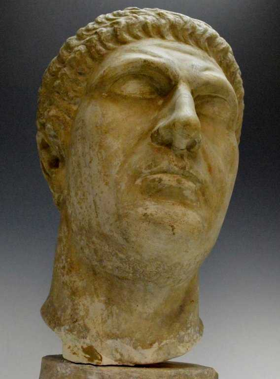 Roman Portrait Head 1st Cent. AD