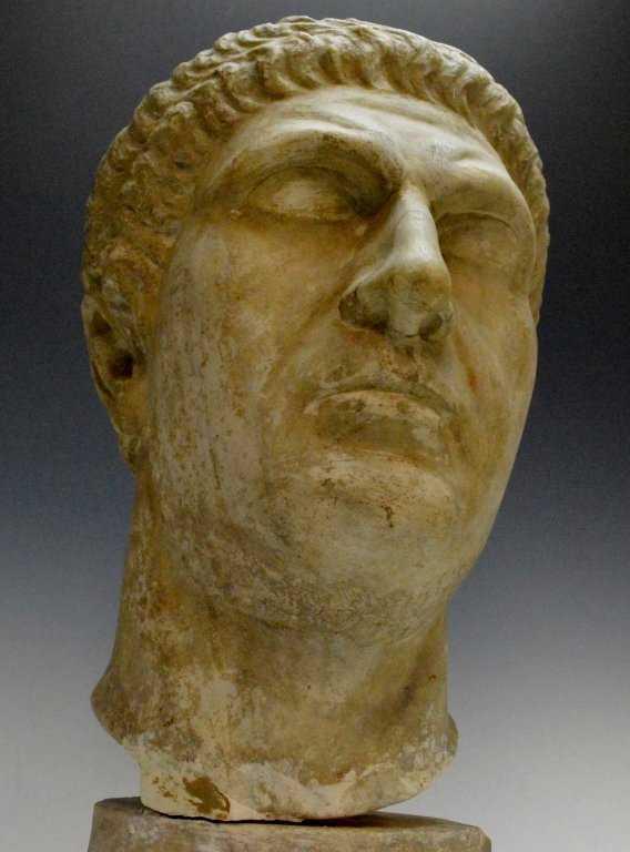 Roman Portrait Head 1st Cent. AD