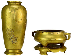 Chinese Brass Grouping