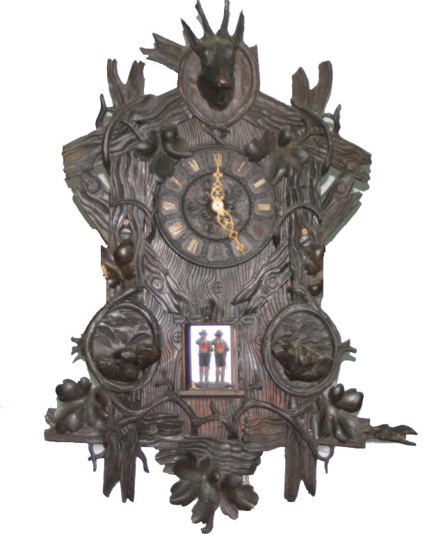 Rare Wehrle Clock