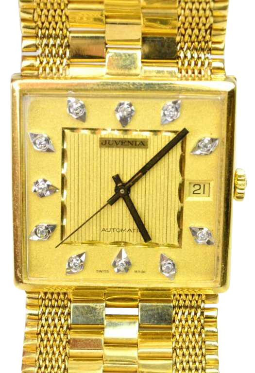 18K Gold Wristwatch