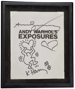 Warhol Harring signed Artwork