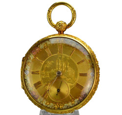 !8k Gold Pocket Watch