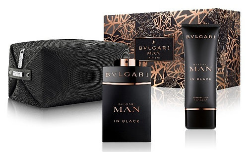 Set Bvlgari Man In Black