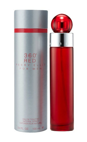 360 Red For Men Perry Ellis