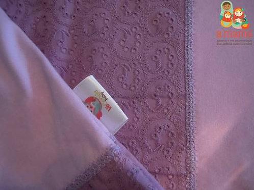 Wrap Sling lilás - Bordado inglês com Dry Fit