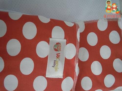 Wrap Sling Poá vermelho - Suplex com Dry Fit
