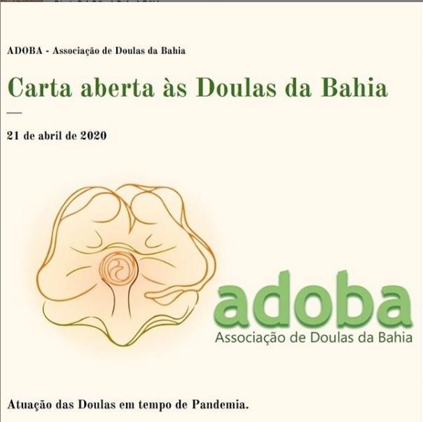 Carta às Doulas da Bahia