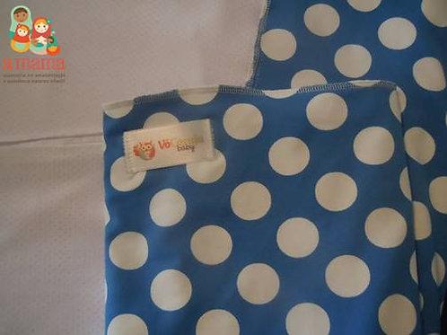Wrap Sling Poá azul - Suplex com Dry Fit