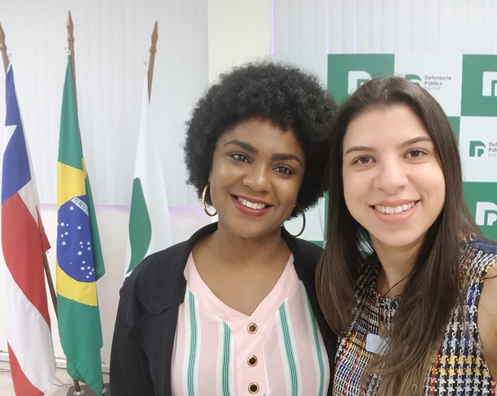 Sueidi Ferreira e Tarsila Leão (doulas)