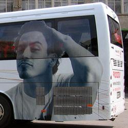 grafična oprema avtobusov