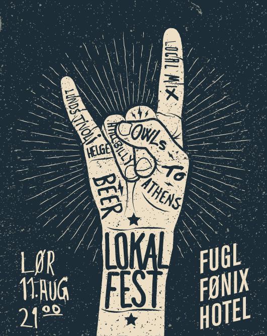 Lokalfest plakat