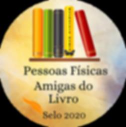 Selo - Amigo do Livro -Pessoas Físicas