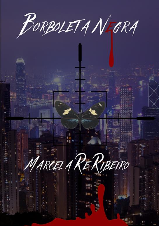 "Capa do livro ""Borboleta Negra"""