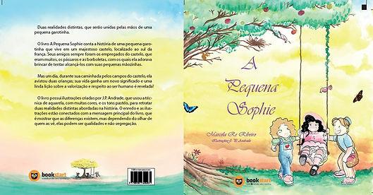 Capa e Contracapa do livro A Pequen Sophie