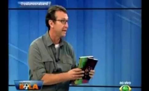 Livro Sexo Gostoso é citado no programa Os Donos da Bola, da TV Bandeirantes