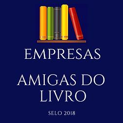 Selo Amigo do Livro - Empresas