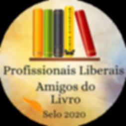 Selo - Amigo do Livro - Profissionais Liberais