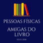 Selo Amigo do Livro - Pessoa Fíica