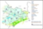 carte du territoire de l'Office de Tourisme Monts et Lacs en Haut-Languedoc et de la Communauté de Communes des Monts de Lacaune et de la Montagne du Haut Languedoc