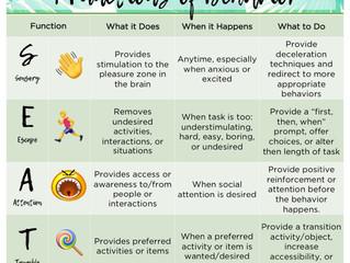 4 Functions of Behaviors