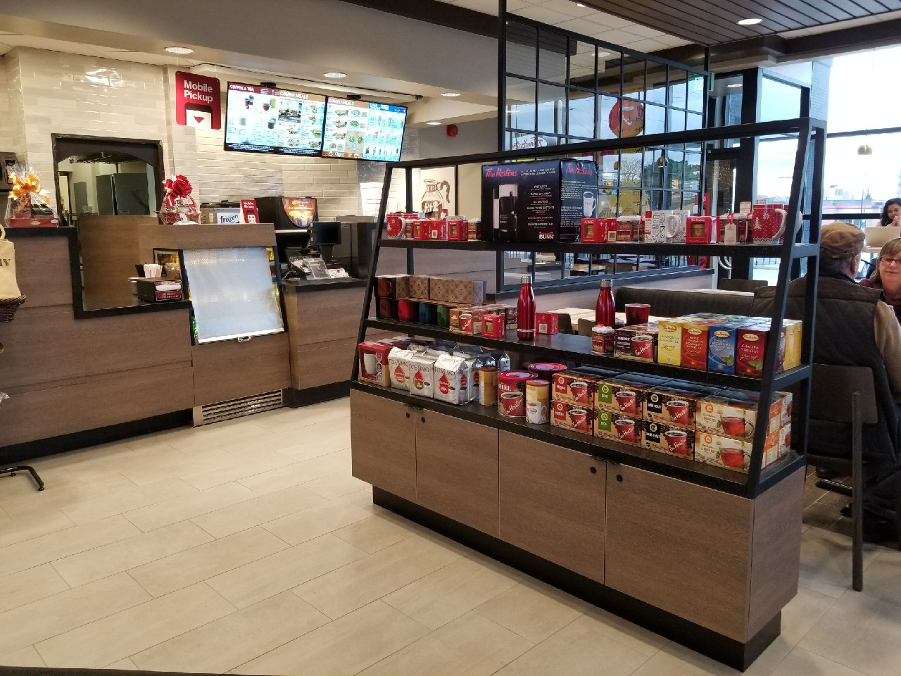 Tim Horton's Display Unit