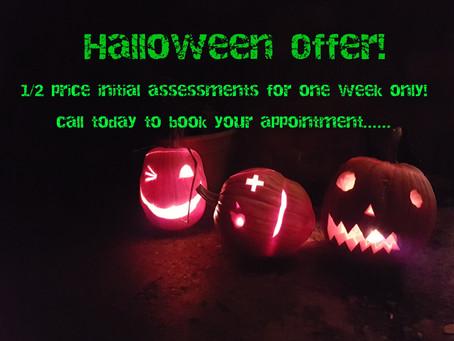 Spooktacular offer!